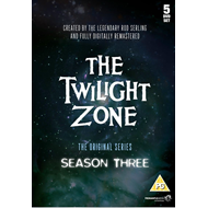 The Twilight Zone - Sesong 3 (UK-import) (DVD)