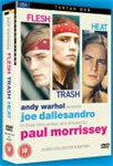The Morrissey/Warhol Trilogy - Flesh/Trash/Heat (UK-import) (DVD)