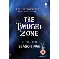 The Twilight Zone - Sesong 5 (UK-import) (DVD)