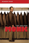 Monk - Sesong 4 (UK-import) (DVD)