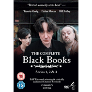Black Books - The Complete Collection (UK-import) (DVD)