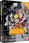 Naruto Unleashed - Sesong 1 (UK-import) (DVD)