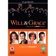 Will & Grace - Sesong 5 (UK-import) (DVD)
