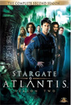 Stargate Atlantis - Sesong 2 (UK-import) (DVD)