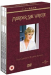 Murder, She Wrote - Sesong 4 (UK-import) (DVD)