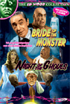 Bride Of The Monster / Night Of The Ghouls (DVD)