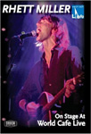 Rhett Miller - On Stage At World Cafe Live (DVD - SONE 1)
