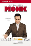 Monk - Sesong 5 (UK-import) (DVD)