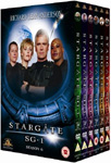 Stargate SG-1 - Sesong 6 (UK-import) (DVD)