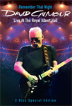 David Gilmour - Remember That Night: Live At The Royal Albert Hall (DVD)
