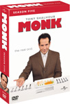 Monk - Sesong 1 (DVD)