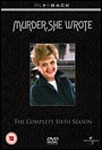 Murder, She Wrote - Sesong 6 (UK-import) (DVD)