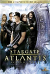 Stargate Atlantis - Sesong 3 (UK-import) (DVD)