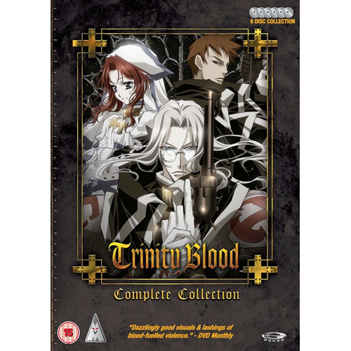 Trinity Blood - Complete Collection (UK-import) (DVD)