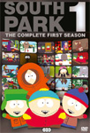 South Park - Sesong 1 (UK-import) (DVD)