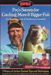 Pro's Secrets For Catching More & Bigger Fish (DVD - SONE 1)
