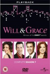 Will & Grace - Sesong 7 (UK-import) (DVD)