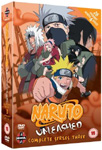 Naruto Unleashed - Sesong 3 (UK-import) (DVD)