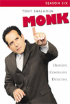 Monk - Sesong 6 (UK-import) (DVD)