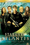 Stargate Atlantis - Sesong 4 (UK-import) (DVD)