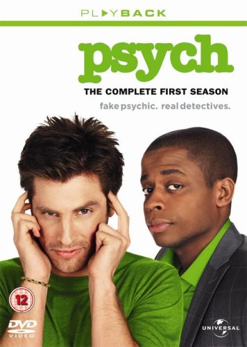 Psych - Sesong 1 (UK-import) (DVD)