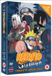 Naruto Unleashed - Sesong 4 (UK-import) (DVD)