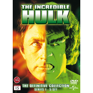 The Incredible Hulk - Den Komplette Serien (DVD)