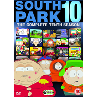 South Park - Sesong 10 (UK-import) (DVD)