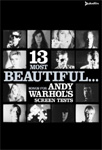 13 Most Beautiful... Songs For Andy Warhol's Screen Tests (UK-import) (DVD)