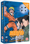 Naruto Unleashed - Sesong 6 (UK-import) (DVD)
