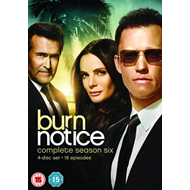 Burn Notice - Sesong 6 (UK-import) (DVD)