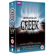 Jonathan Creek - Sesong 1 - 4 (UK-import) (DVD)