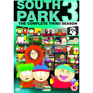 South Park - Sesong 3 (UK-import) (DVD)