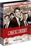 Law & Order - Sesong 5 (UK-import) (DVD)