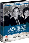 Law & Order: Special Victims Unit - Sesong 3 (UK-import) (DVD)