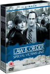 Law & Order: Special Victims Unit - Sesong 4 (UK-import) (DVD)