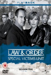 Law & Order: Special Victims Unit - Sesong 5 (UK-import) (DVD)