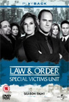 Law & Order: Special Victims Unit - Sesong 8 (UK-import) (DVD)