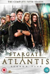 Stargate Atlantis - Sesong 5 (UK-import) (DVD)