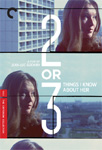 2 Or 3 Things I Know About Her - Criterion Collection (DVD - SONE 1)