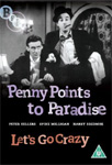 Penny Points To Paradise / Let's Go Crazy (UK-import) (DVD)