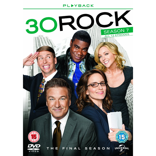 30 Rock - Sesong 7 (UK-import) (DVD)