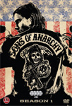 Sons Of Anarchy - Sesong 1 (DVD)