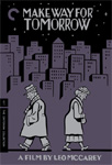 Make Way For Tomorrow  - Criterion Collection (DVD - SONE 1)