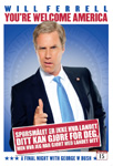 Will Ferrell: You're Welcome, America - A Final Night With George W. Bush (UK-import) (DVD)