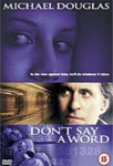 Don't Say A Word (UK-import) (DVD)