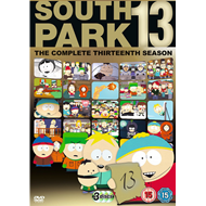 South Park - Sesong 13 (UK-import) (DVD)