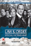 Law & Order: Special Victims Unit - Sesong 9 (UK-import) (DVD)
