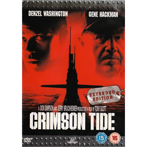 Crimson Tide - Extended Cut (UK-import) (DVD)