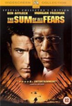 The Sum Of All Fears (UK-import) (DVD)